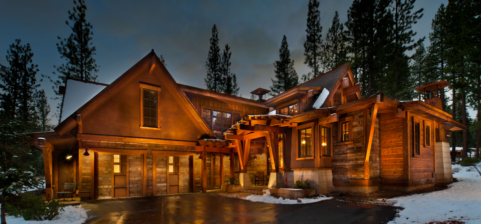Unique Martis Camp Custom Home