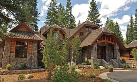Custom Mountain Style Home