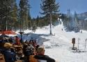 Deck at the Martis Camp Ski Lodge