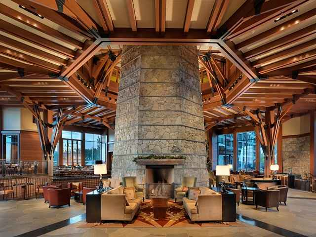 Ritz-Carlton Lobby Fireplace