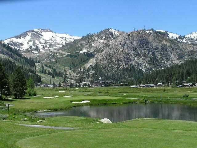 golf-course-and-pond