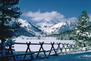Squaw Valley in Winter