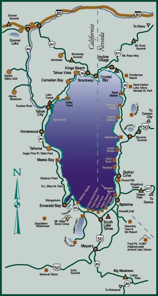 Tahoe Map 3
