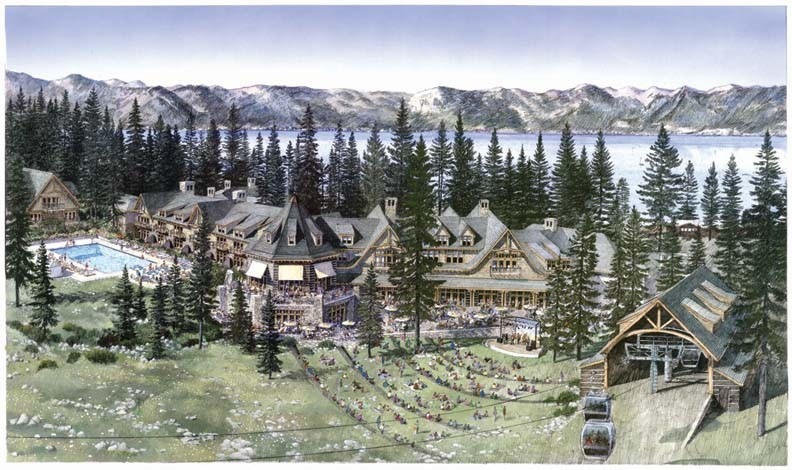 The homewood mountain resort ski area master plan for Designhotel ski