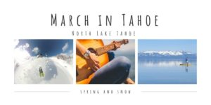 March in Tahoe